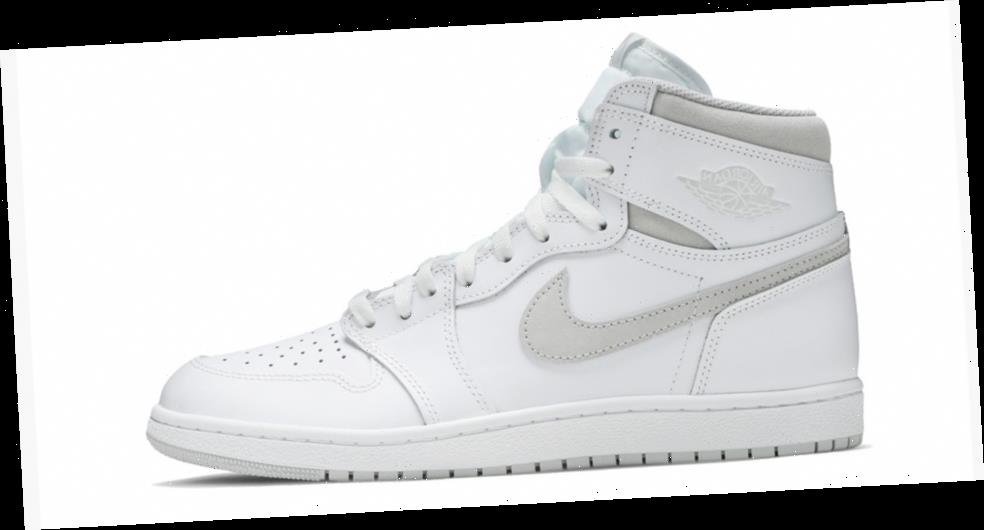 """Air Jordan 1 High '85 """"Neutral Grey"""" Returns For First Time in 35 Years"""