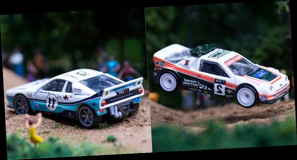 Period Correct and Hot Wheels Celebrate the Glory Days of Group B Rallying
