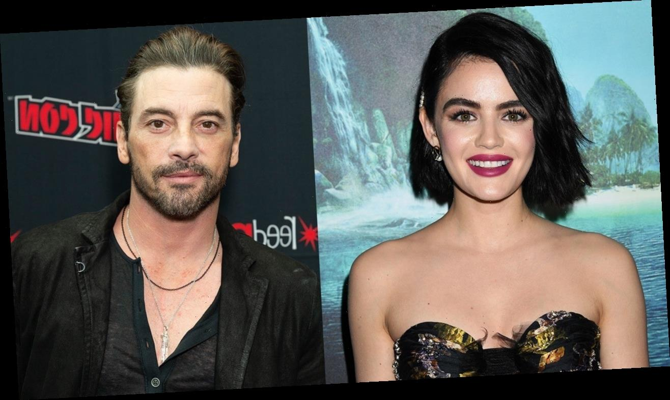 Lucy Hale and Skeet Ulrich Spotted Kissing During Lunch Date