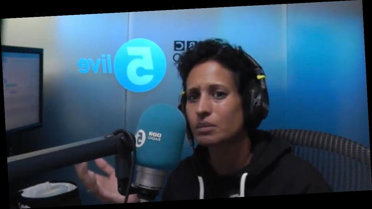 Naga Munchetty red-faced after running out of studio for loo break live on air