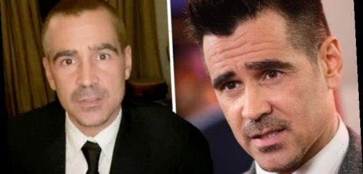 Colin Farrell fans fear he's being 'held hostage' during 'odd' Golden Globes appearance