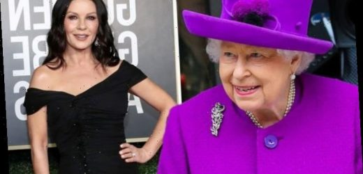 Catherine Zeta-Jones felt 'incredibly important' after encounter with Queen: 'A huge fan'