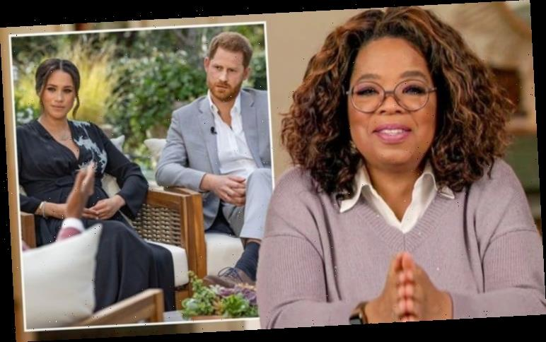 Meghan Markle and Prince Harry smash ITV ratings record with Oprah interview
