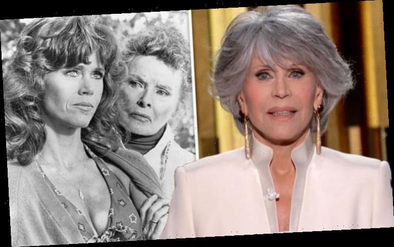 Jane Fonda says 'competitive' Katharine Hepburn 'didn't like' her amid Oscars rivalry