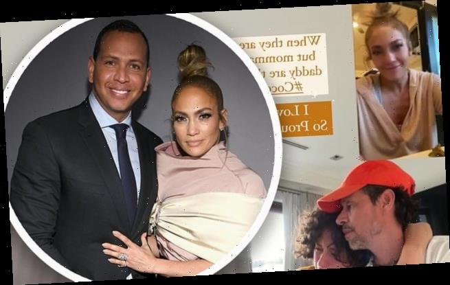 Jennifer Lopez's daughter Emme, 13, cries amid Alex Rodriguez split