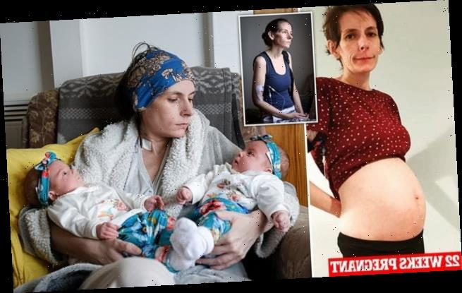 Woman who hasn't been able to eat for a decade gives birth to twins
