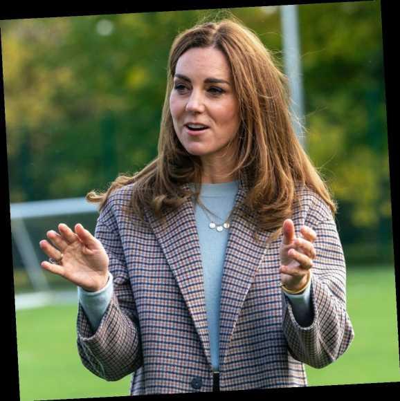 Duchess Kate laid flowers at a memorial for murder victim Sarah Everard