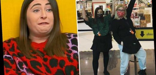 Gogglebox's Sophie Sandiford reveals she's training as a florist after losing her job at Debenhams