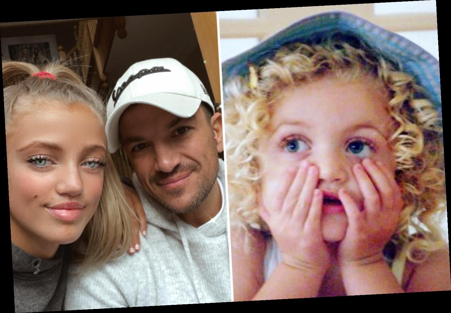 Peter Andre has sweet exchange with Katie Price's ex Kieran Hayler over throwback snap of Princess