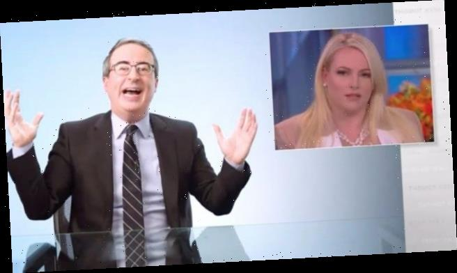 John Oliver Blasts Meghan McCain for Hypocritical Response to Anti-Asian Hate