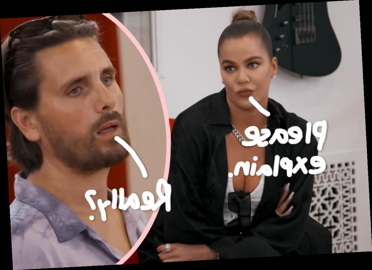 Khloé Kardashian PISSED At Scott Disick For Spilling Tristan Thompson Relationship News