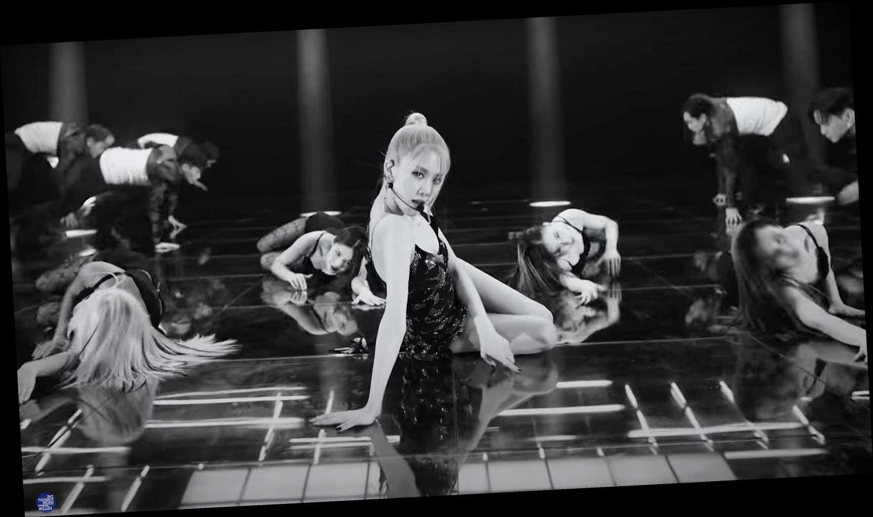 Blackpink's Rosé Breezes Through Elaborate 'On the Ground' Performance on 'Fallon'
