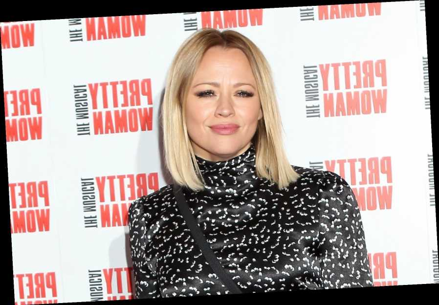 Pregnant Girls Aloud star Kimberley Walsh reveals she's having her third son saying 'I'm so outnumbered'
