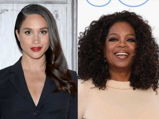 Meghan Markle's Close Relationship With Oprah Winfrey Started With a Scary Moment For Her Mom