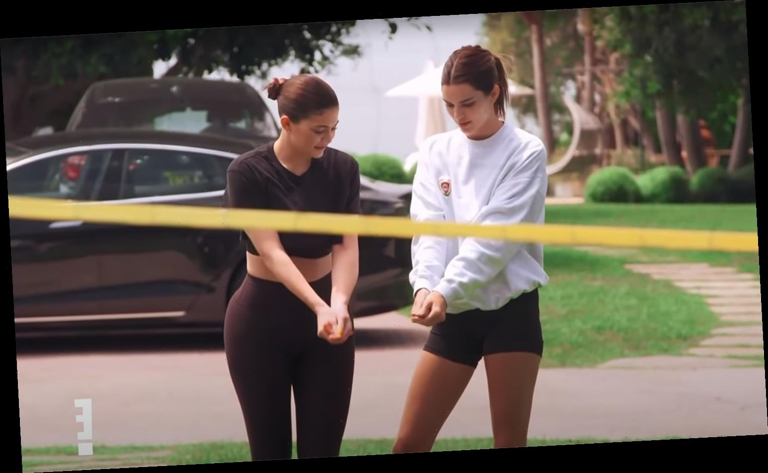 Kardashians Get Competitive with 'Genetically Gifted' Jenners During Volleyball Match on KUWTK