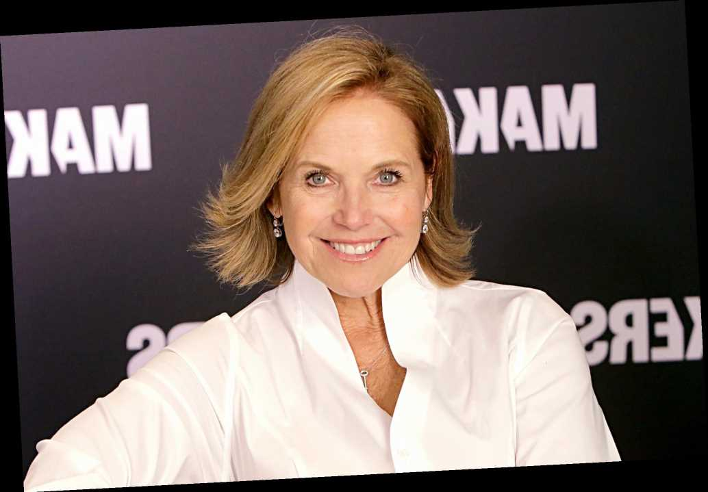 Katie Couric poses makeup-free for People's 'Beautiful Issue'