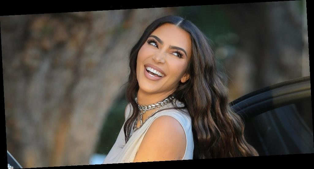 Kim Kardashian Can't Stop Smiling After Business Meetings in LA
