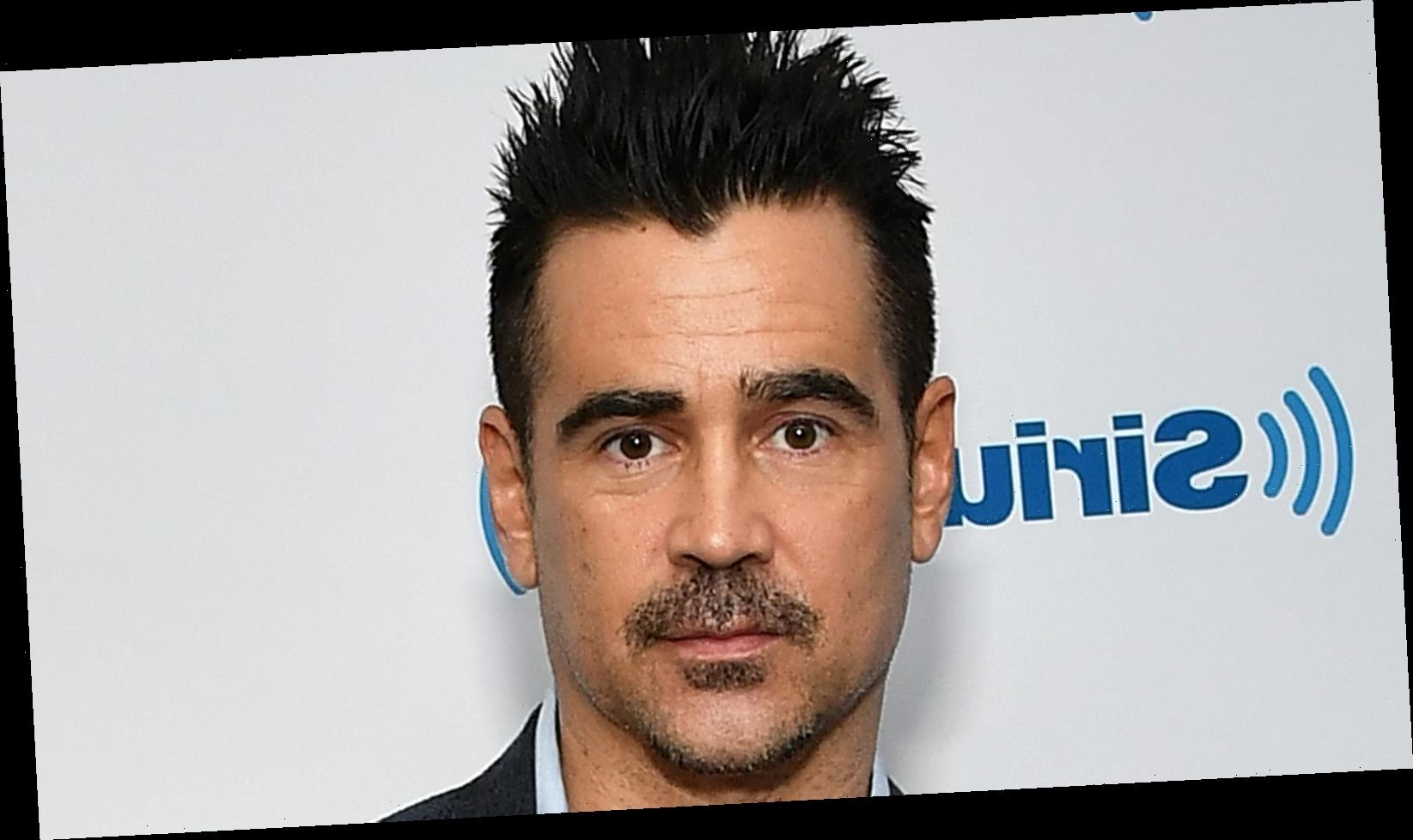 The Internet Can't Stop Talking About Colin Farrell's Eyebrows At The Golden Globes