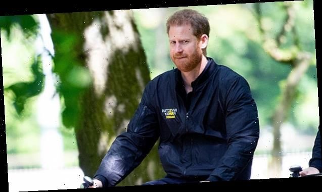 Prince Harry Indulges In A Solo Bike Ride In 1st Photos Since Explosive Oprah Interview
