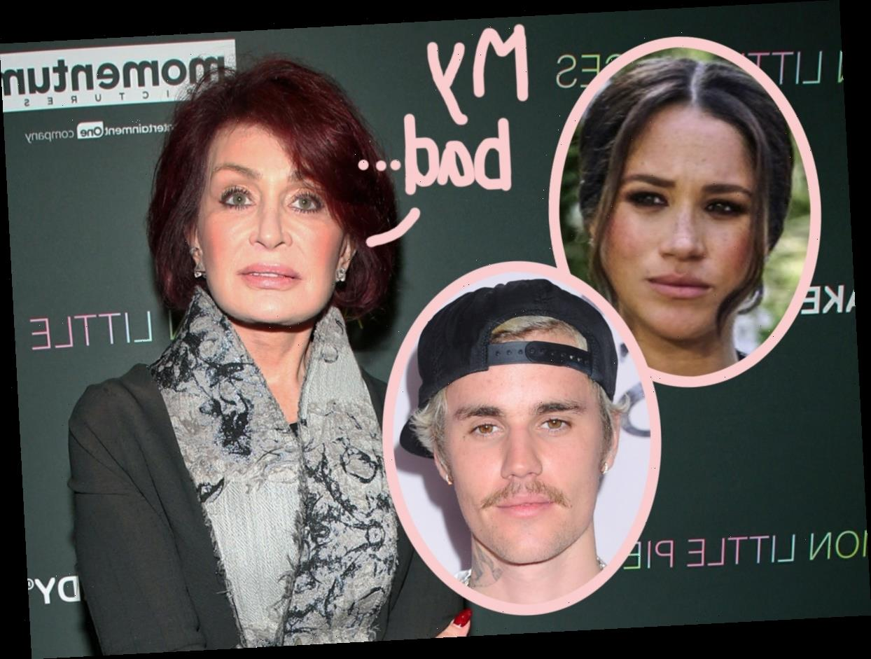 Sharon Osbourne's Past Comments About Meghan Markle & Justin Bieber Resurface Amid Racism Controversy!