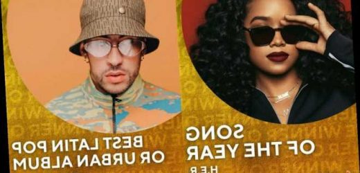 Grammys 2021: H.E.R. Wins Song of the Year, Bad Bunny Takes Home Best Latin Pop or Urban Album Award