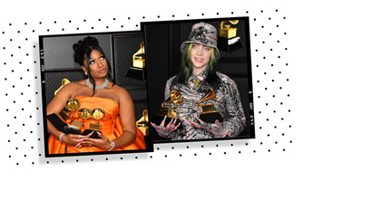 Billie Eilish's tribute to Megan Thee Stallion at the Grammys was glorious
