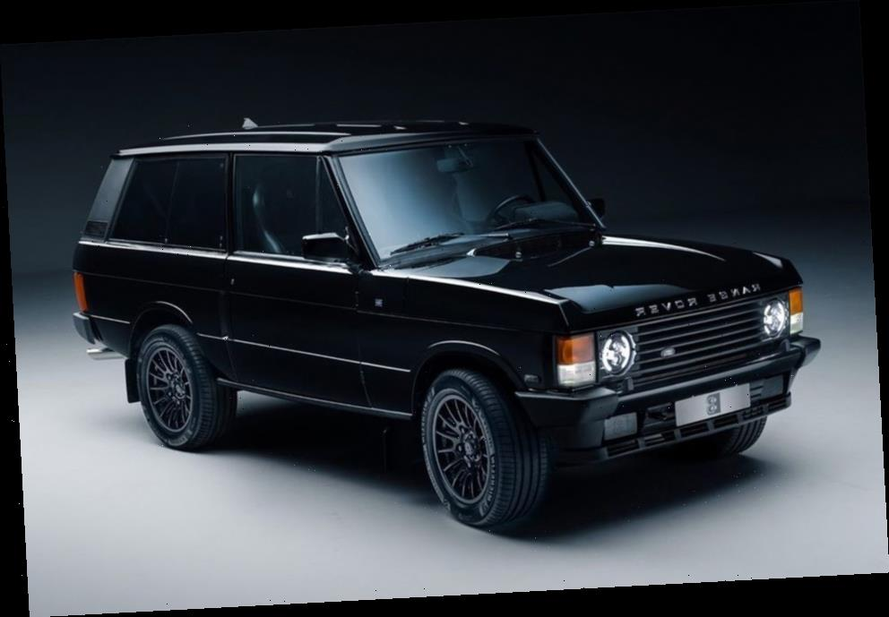 Bamford Auto Department and Bishops Heritage Drop a Chevy V8 Into a Range Rover Classic