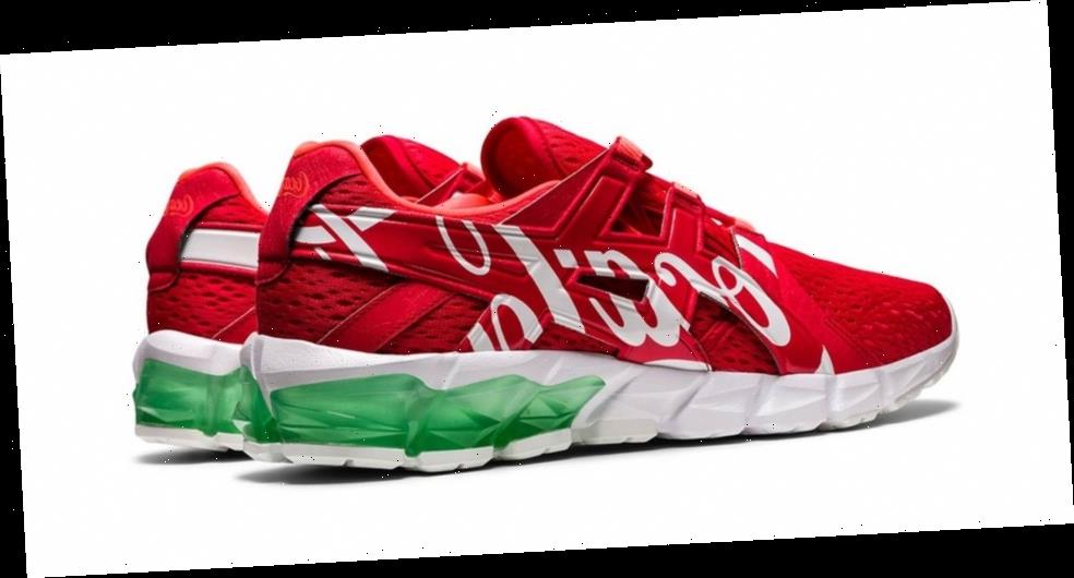 Coca-Cola and ASICS Team up For Refreshing GEL-Quantum 90