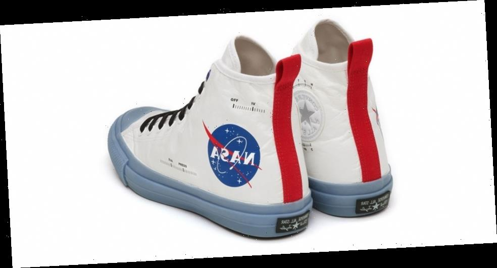 Converse Japan Blasts Off With NASA Spacesuit-Themed Chuck Taylors