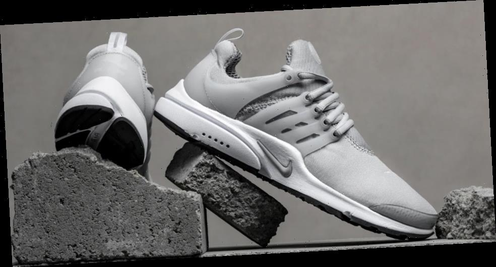 "Nike Air Presto ""Light Smoke Grey"" Supplies Crisp Sportswear Style"