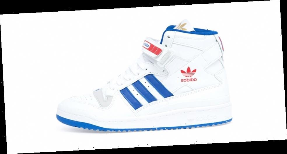 SNIPES Is Selling Its Detroit Pistons x adidas Originals Forum Hi Out of a Truck This Weekend