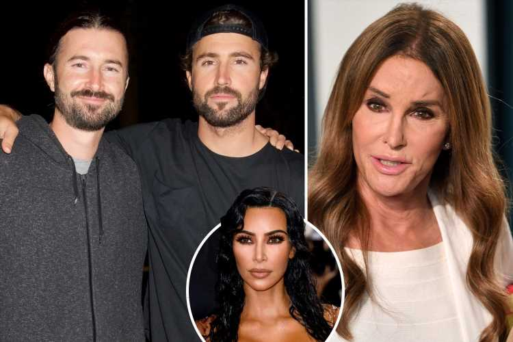 Caitlyn Jenner's sons are 'embarrassed' by her run for governor as stepdaughter Kim Kardashian 'refuses to endorse her'