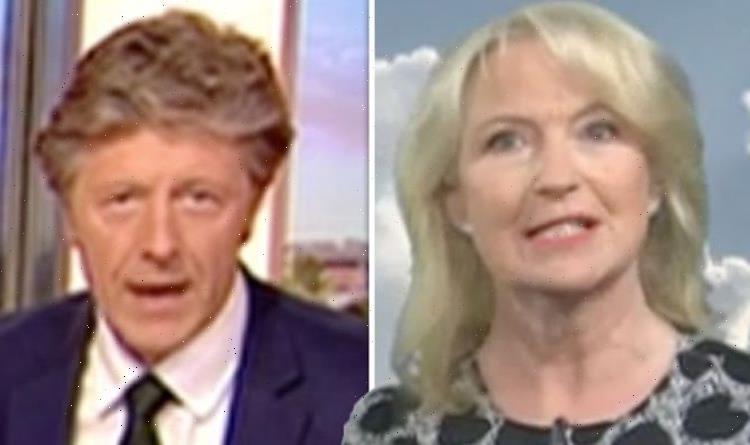 Carol Kirkwood hits backat Charlie Stayt over cheeky age remark 'You're the same as me!'