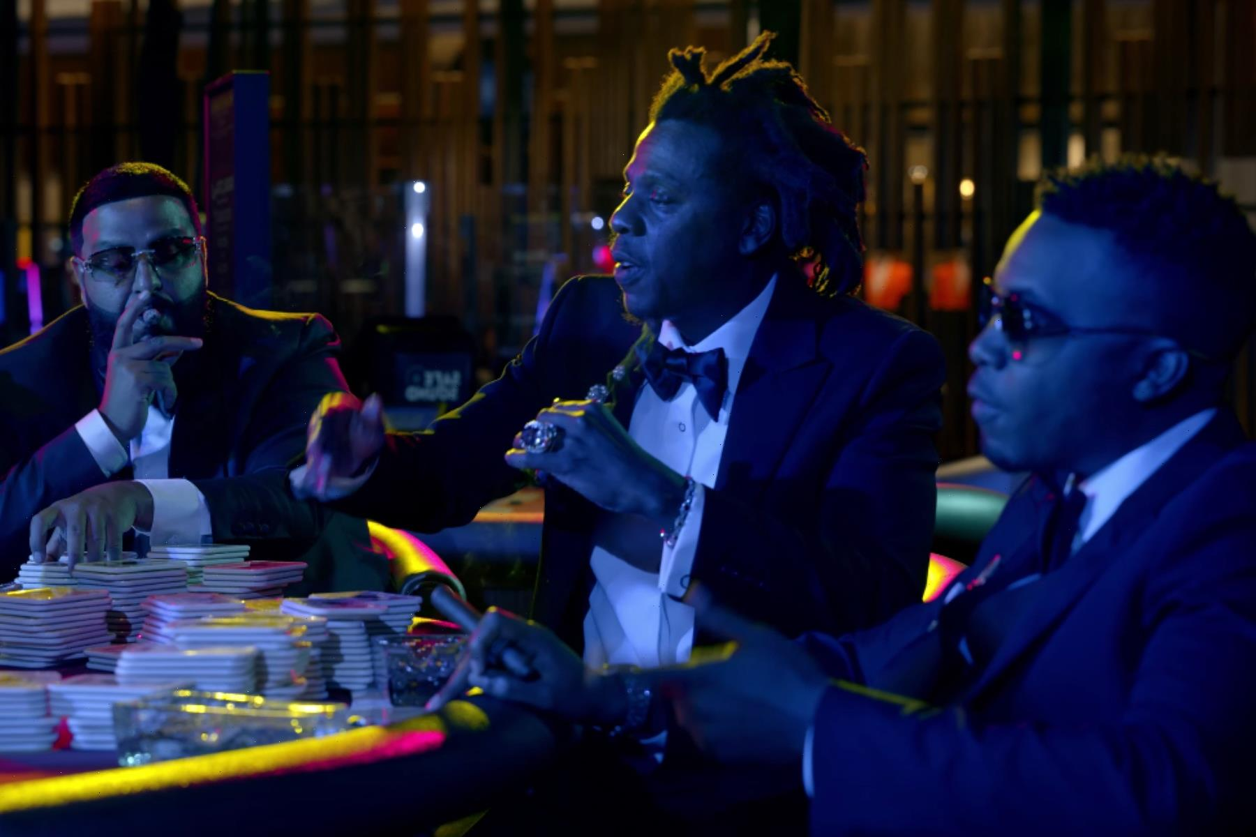 DJ Khaled, Nas, Jay-Z Hit the Casino in New 'Sorry Not Sorry' Video