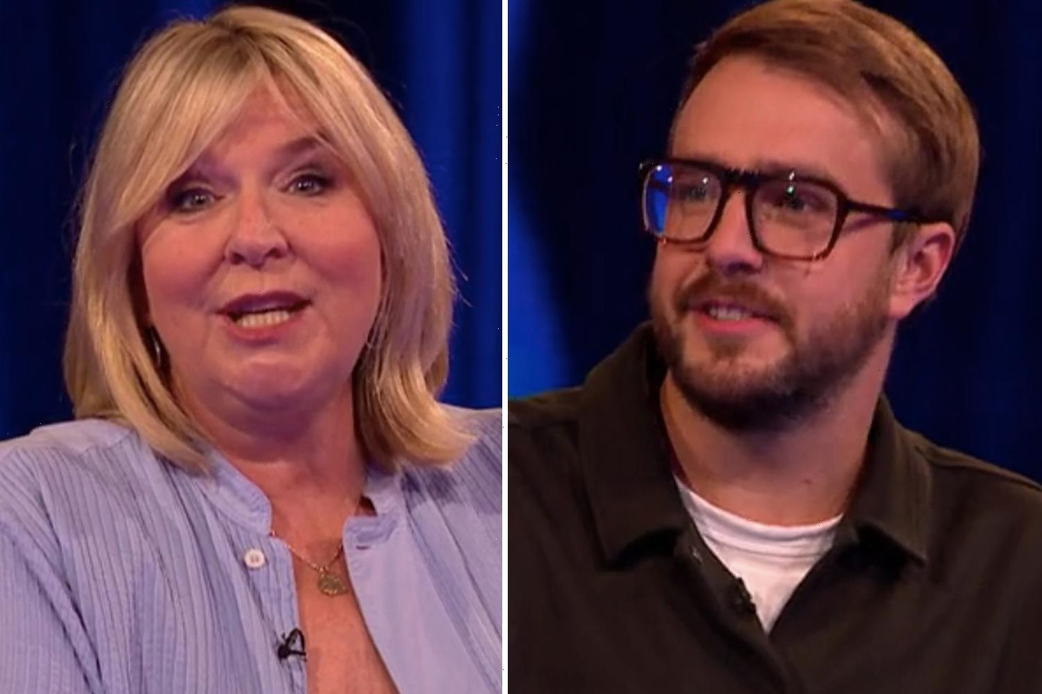 Fern Britton snaps 'don't patronise me' at Love Island's Iain Stirling as Tipping Point celeb special takes tense turn