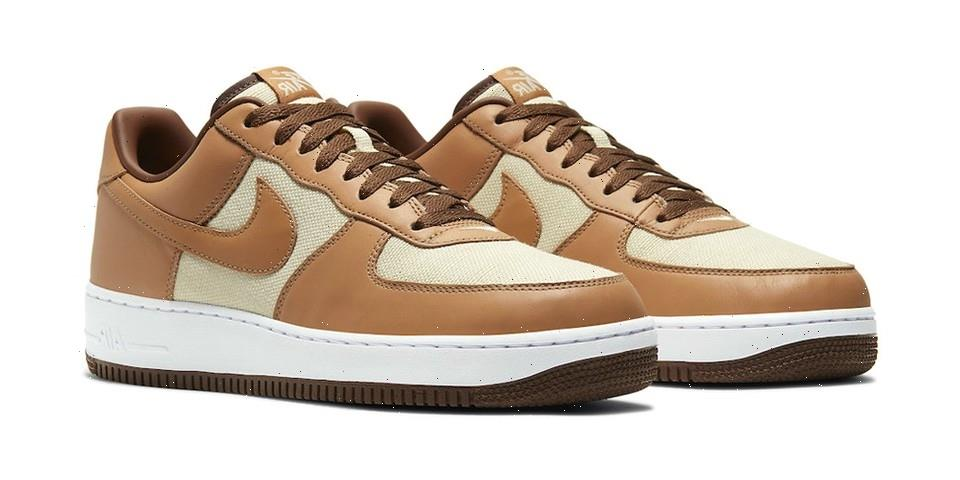 """Here's An Official Look at Nike's Air Force 1 Low """"Acorn"""""""