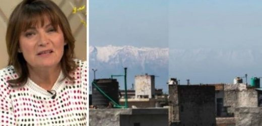 ITV's Lorraine under fire after airing 'photoshopped' picture of Himalaya pollution