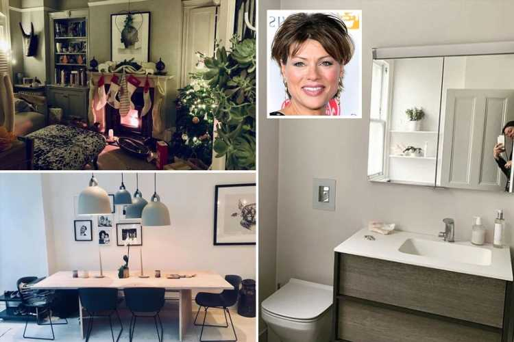 Inside Kate Silverton's incredible family home with spotless bathroom and huge garden