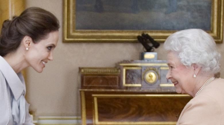 Inside Queen Elizabeth's Relationship With Angelina Jolie