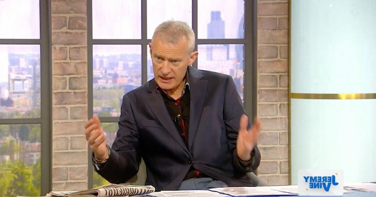 Jeremy Vine accused of 'race baiting' Prince Philip's funeral by Channel 5 fans