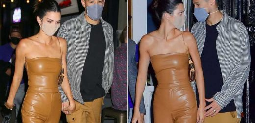 Kendall Jenner and Devin Booker hold hands on date night