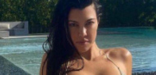 Kourtney Kardashian's sexiest pics as she turns 42 from lingerie to tiny bikinis