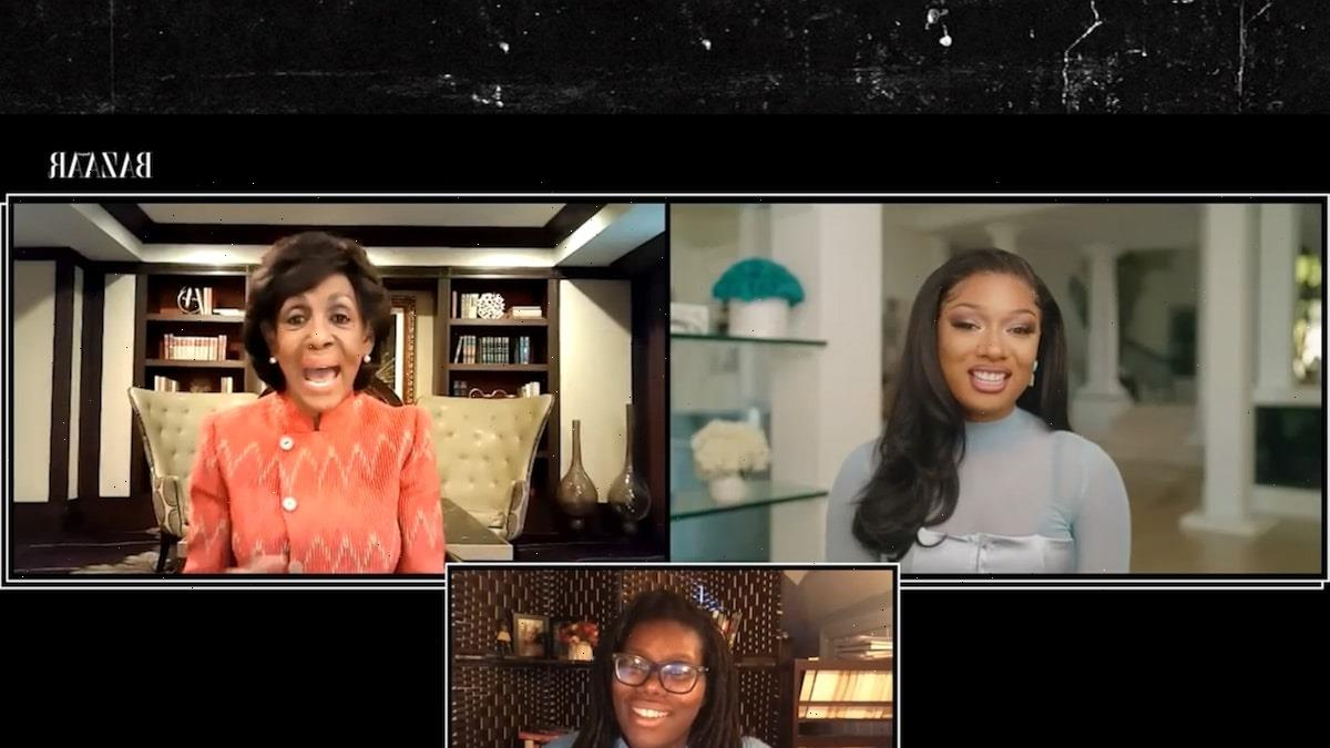 Maxine Waters Praises Megan Thee Stallion's 'Audacity' for 'WAP'