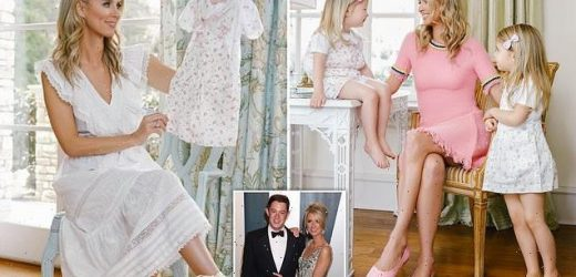 Nicky Hilton shares snaps of daughters to promote kids clothing range