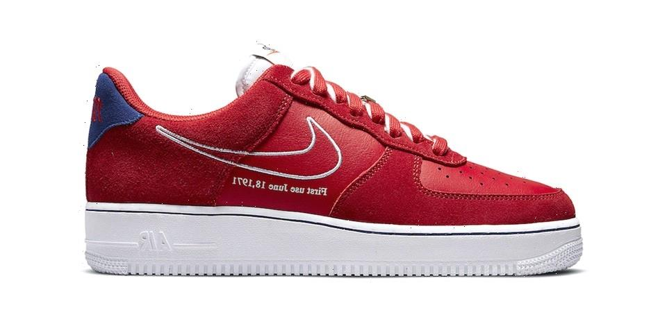 """Nike's New Air Force 1 """"University Red"""" Is an Homage to the Silhouette's Heritage"""