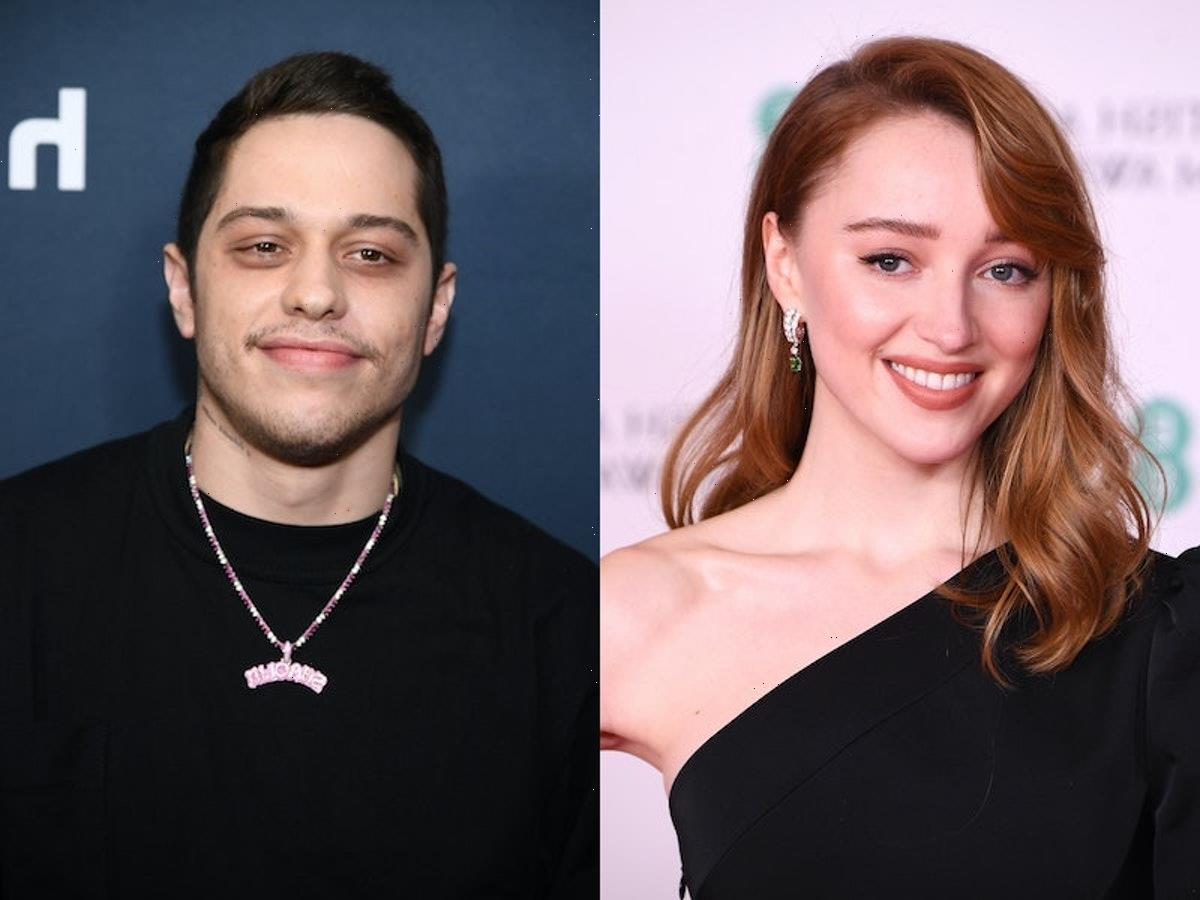 Phoebe Dynevor & Pete Davidson Were In England Together & They Look So Happy