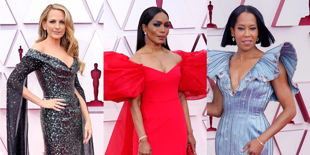 Regina King, Marlee Matlin, Angela Bassett & More Rock Statement Sleeves on the 2021 Oscars Red Carpet!