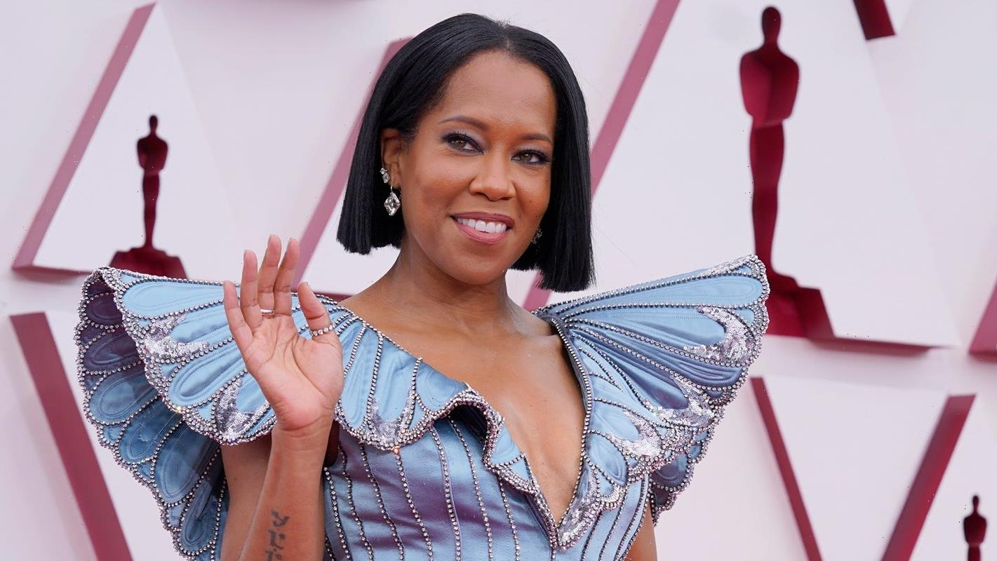 Regina King stuns in opening Oscars speech: 'I may have traded in my heels for marching boots'