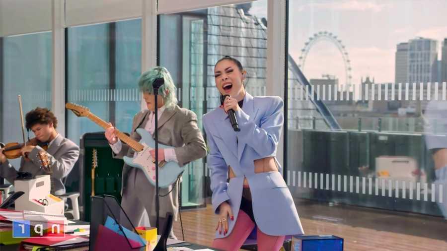 Rina Sawayama Performs for NPR's 'Tiny Desk' Concert Series