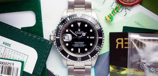 Russell Crowe's 'Cinderella Man' Rolex Submariner Is Now for Sale